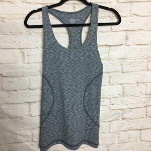Zella Stripe Blue Work out Tank Shirt XS